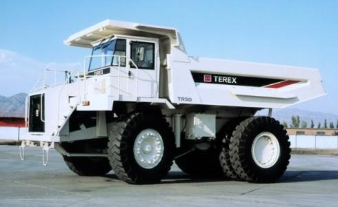 Карьерный самосвал TEREX TR50
